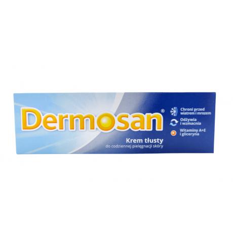 Dermosan, krem tłusty do twarzy i ciała 40 g