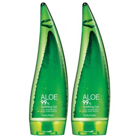 Holika Holika Aloe 99% Soothing Gel 2x250ml - dwupak