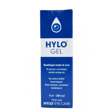 Hylo-Gel, krople do oczu 10 ml