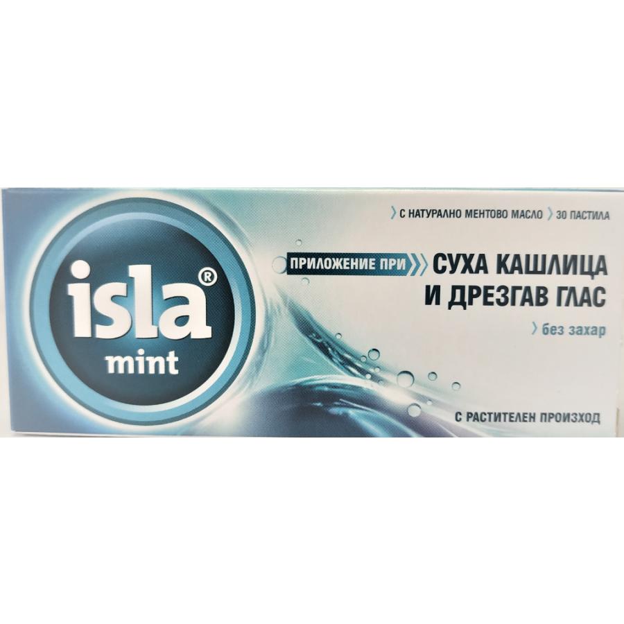 Isla-Mint pastylki do ssania, 30 szt.