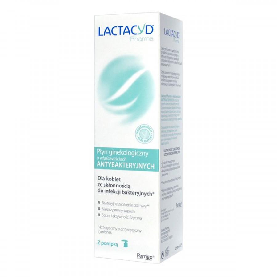 Lactacyd Pharma, płyn, ginekol.,ochronny, 250 ml, z pompką