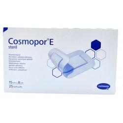 Cosmopor E, plaster opatrunkowy, jałowy 15x8cm 25 szt.