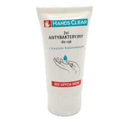 Hands Clear, żel, antybakteryjny do rąk, 50 ml
