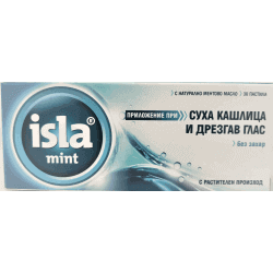 Isla-Mint pastylki do ssania, 30 szt.