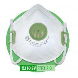 Półmaska filtrująca X 310 SV FFP3 RD, 1 szt.