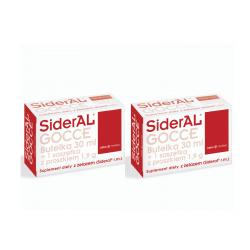 SiderAL® Gocce 2 x 30ml - dwupak KDW