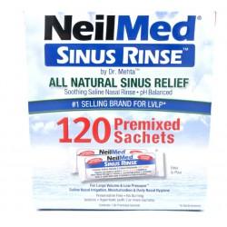 Sinus Rinse Kit, zestaw uzup. do płukania nosa, 120 sasz.