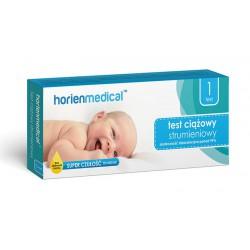 Strumieniowy test ciążowy - Horienmedical 1 szt