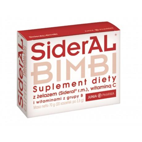 SiderAL® Bimbi 20 saszetek