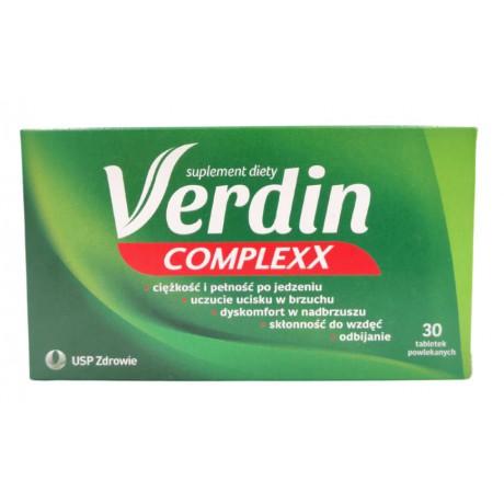 Verdin Complexx, tabl.powl., 30 szt